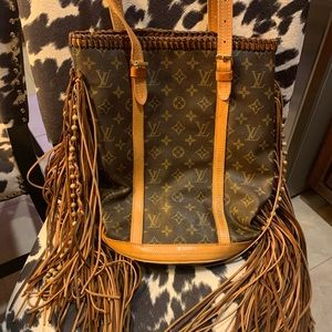 Vintage Boho Bags Large French Tote